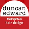 Duncan Edward hair salon logo